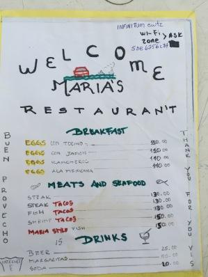 Restaurant in Bahia Tortuga