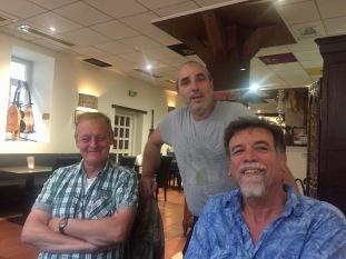 Berthold, Tony, and Steve