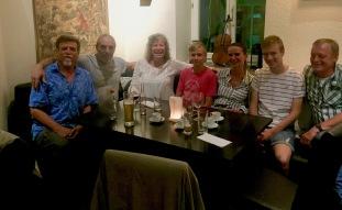 Steve, Tony, Sherri, Timo, Angelika, and Niko