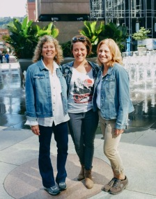 Sherri, Leah, and Ellen