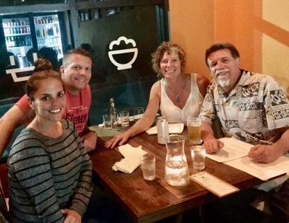 Jessica, David, Sherri, and Steve