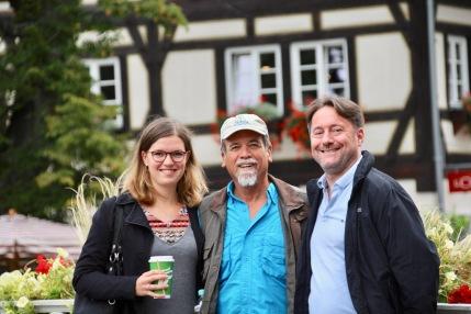 Anna, Steve and Lars